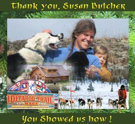 Susan Butcher Tribute